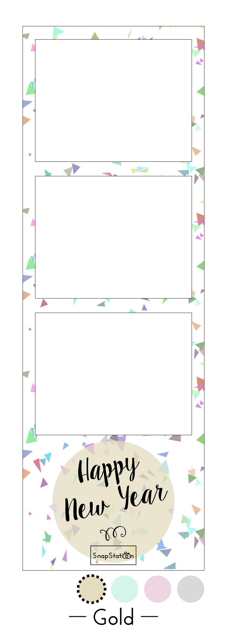 Photo strip confetti - Gold.jpg