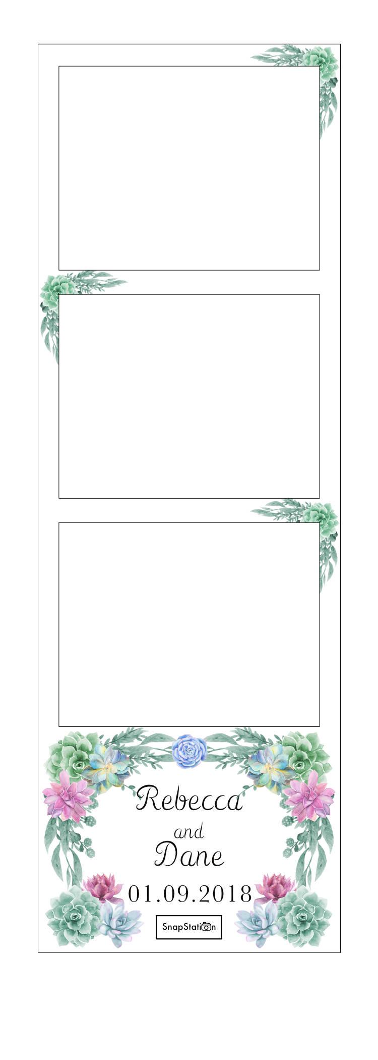 SnapStation Photo Booth Photo Strip - Succulent.jpg