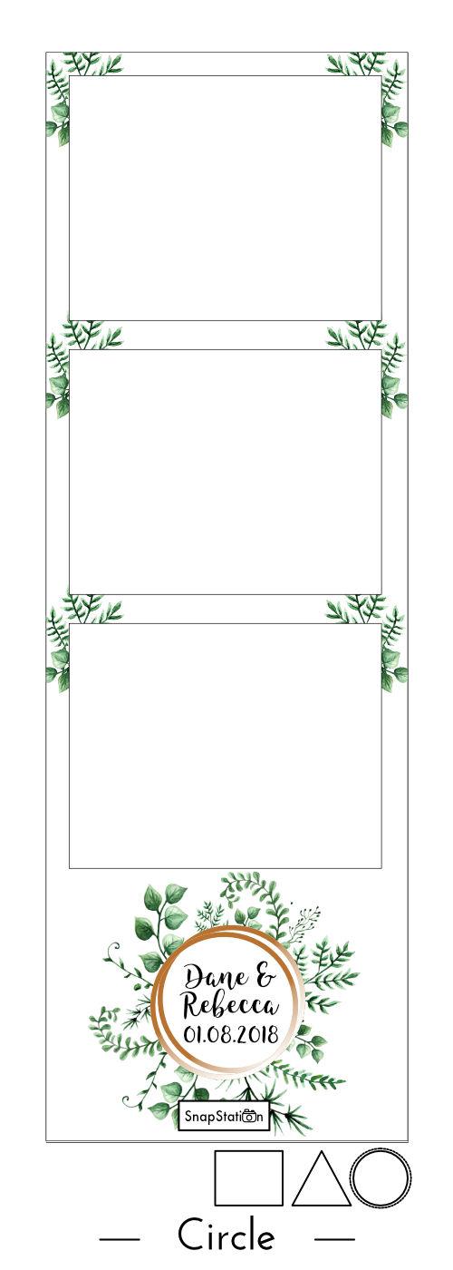 Foliage Photo Booth Strip Geometric Circle.jpg