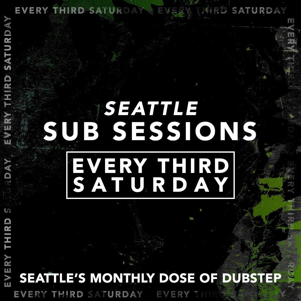 Seattle Sub Sessions is proud to bring you another night of Dubstep! Contour 807 1st Ave 21+ | $10 | 10pm-2am