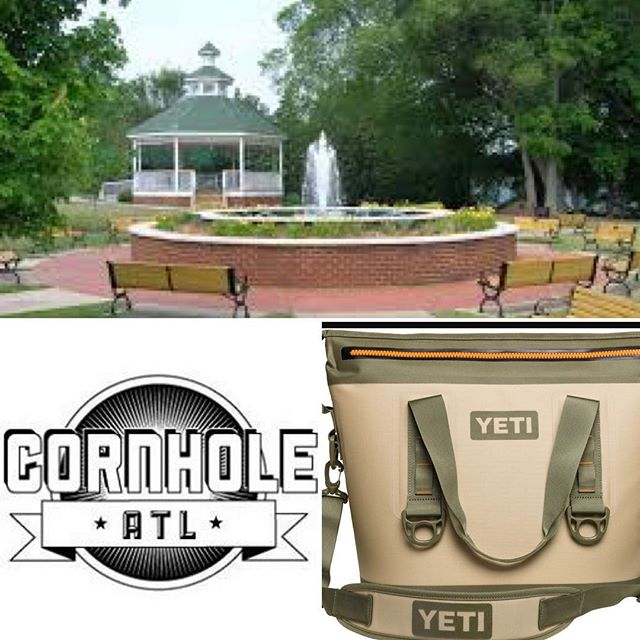 Cadence Fair is this weekend and our friends at @cornholeatl are throwing two cornhole tournaments! Yeti Hoppers to the winning teams! Go to their IG page to sign up!  #bbq #barbecue #beer #craftbeer #cornhole