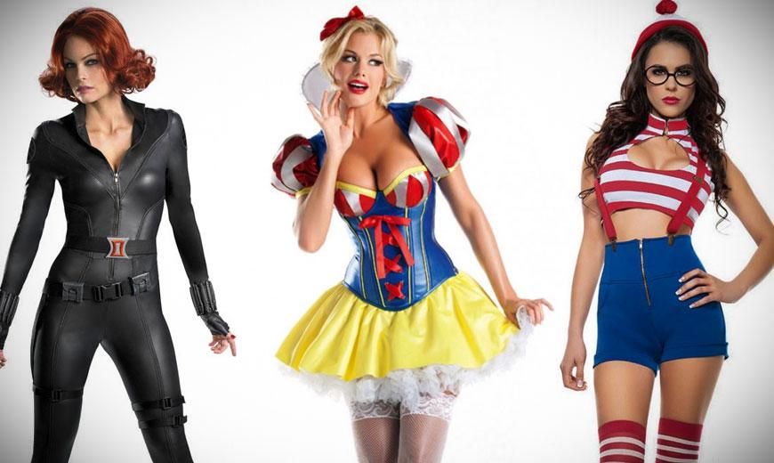 Boob costume girl