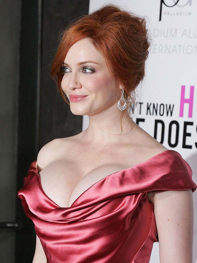 tits big Christina hendricks