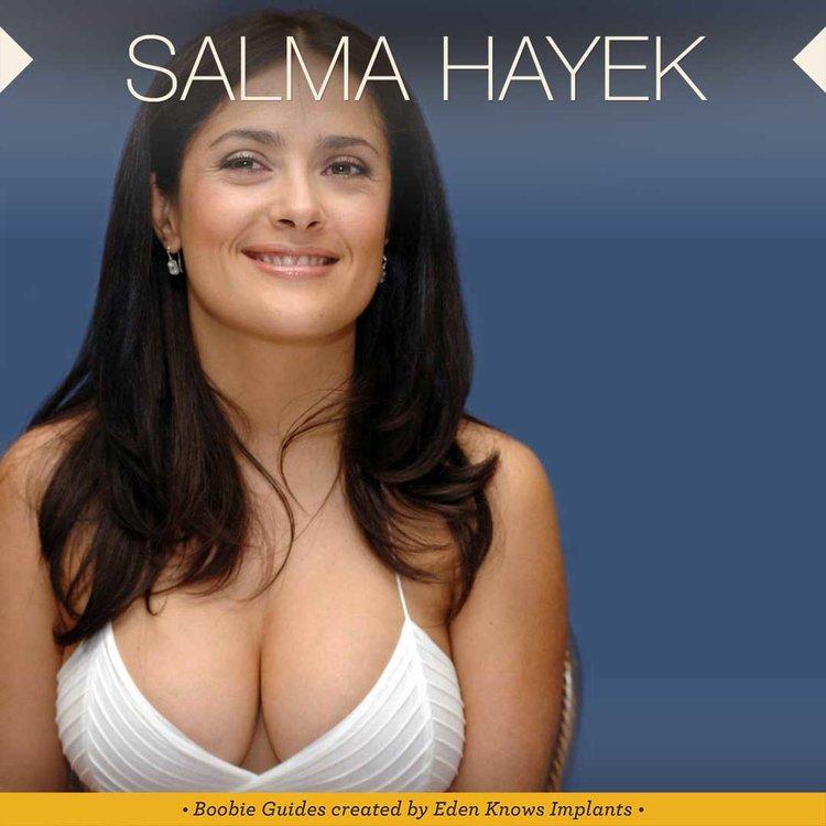 Breast Implant Inspiration Salma Hayek Photos t