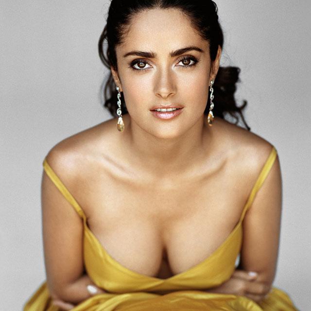 Salma Hayek Breast Implants