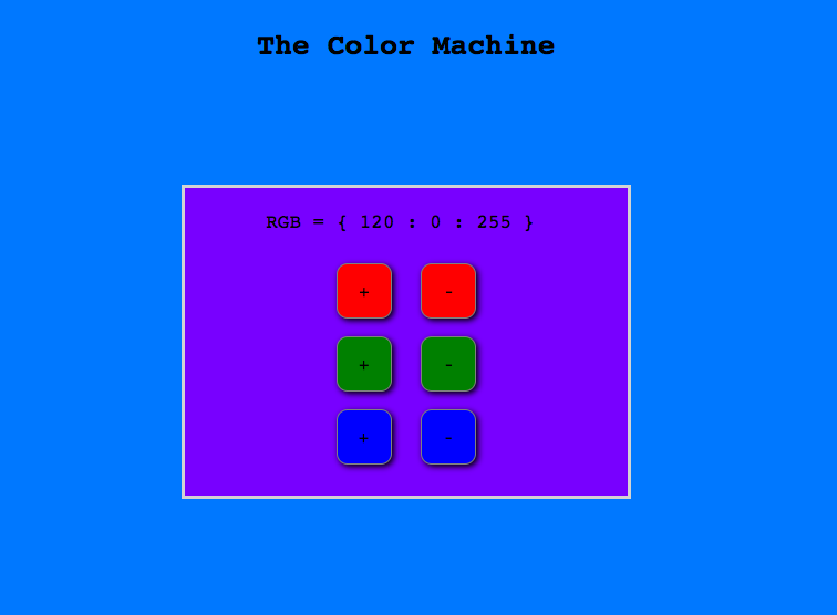 The Color Machine