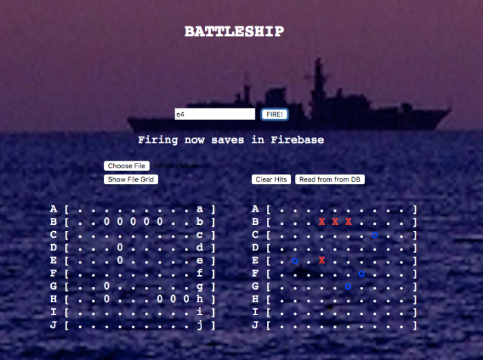 Multi-player Battleship