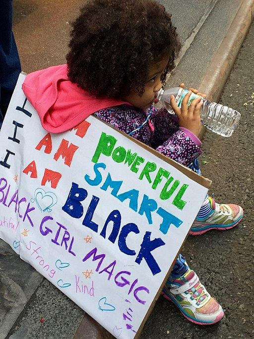 By Amanda Hirsch from Brooklyn, NY, USA (Black girl magic) [CC BY 2.0 (http://creativecommons.org/licenses/by/2.0)], via Wikimedia Commons