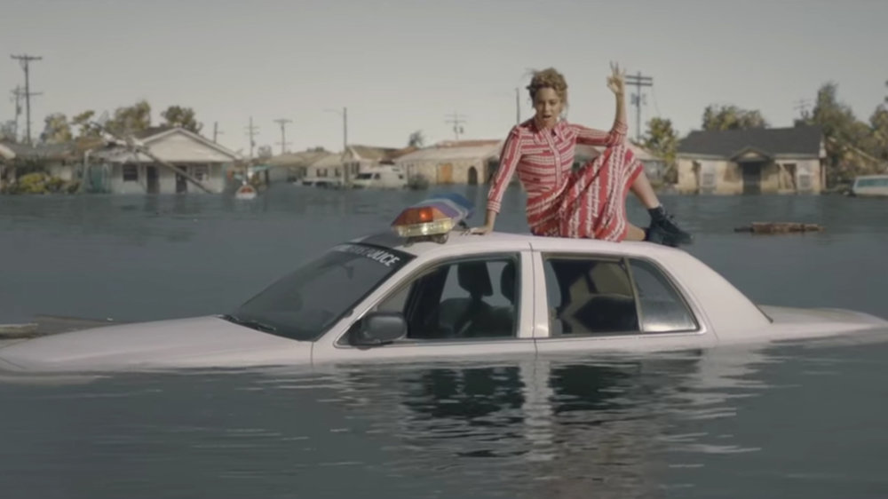 "Screengrab of Beyonce's ""Formation"""