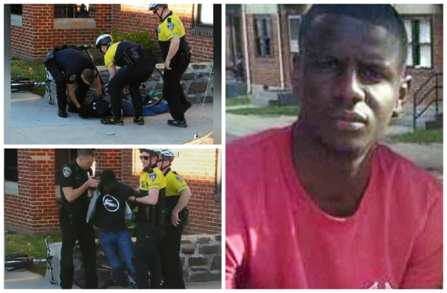 Freddie Gray collage
