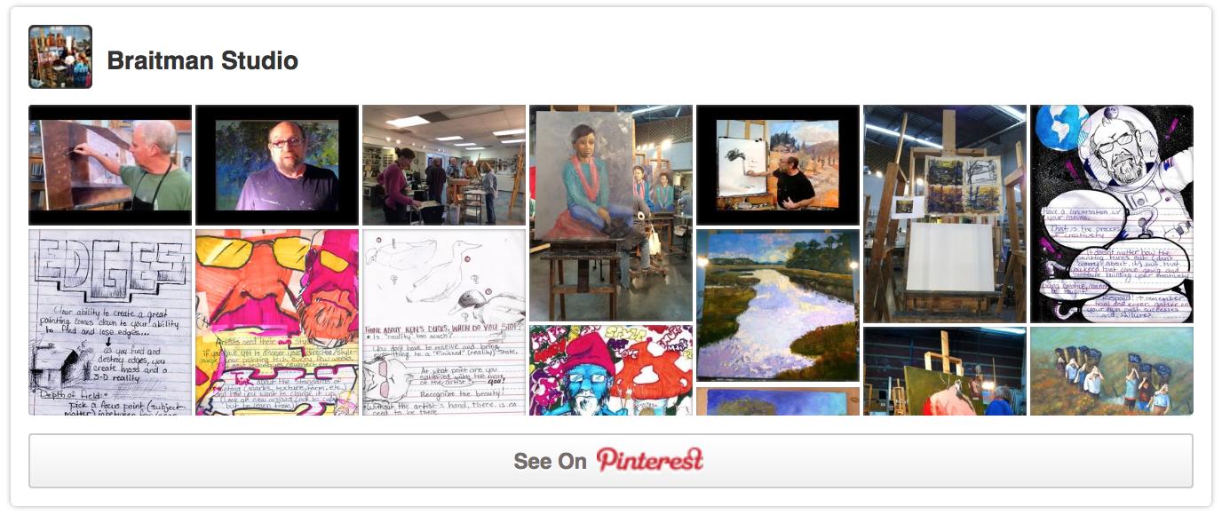 Braitman Studio's Pinterest Profile