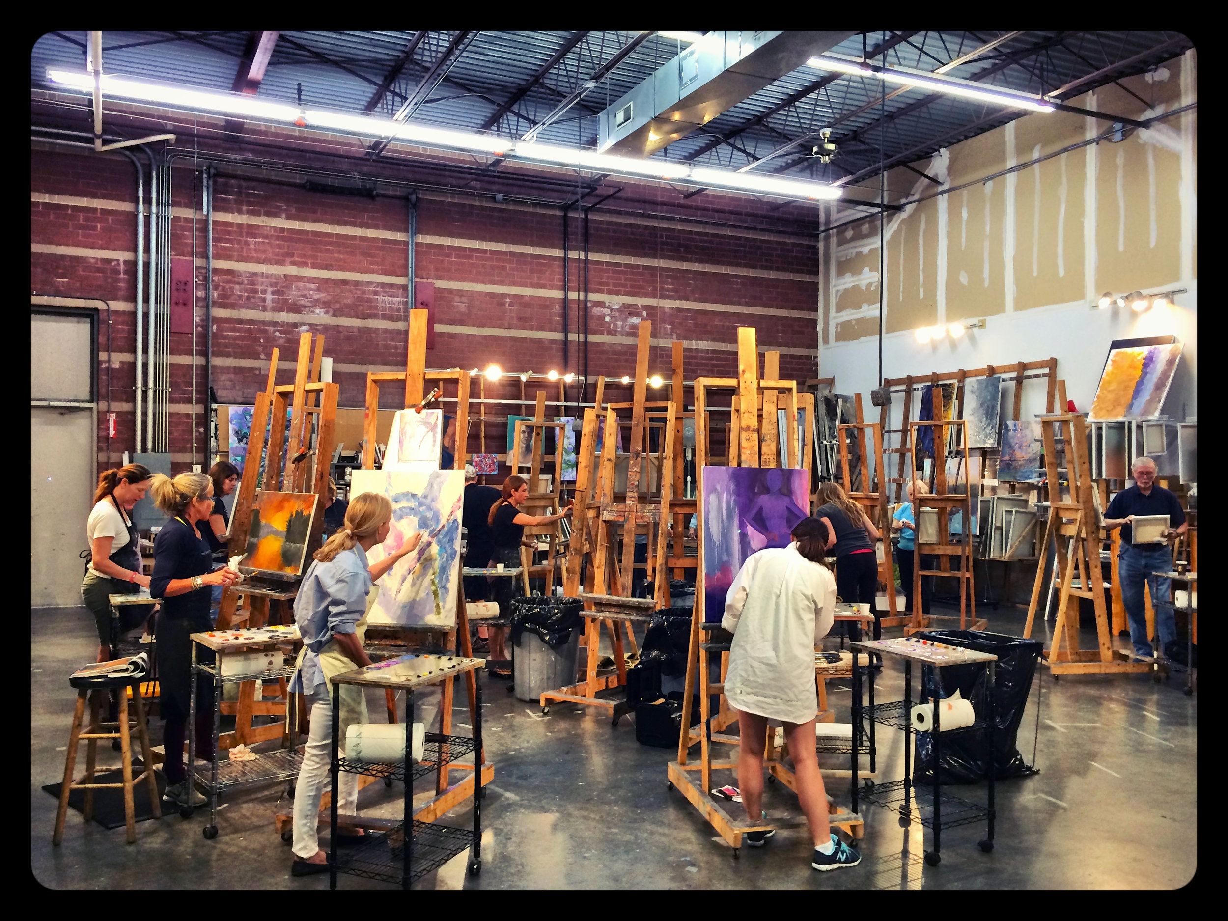 Braitman Studio Class in Action