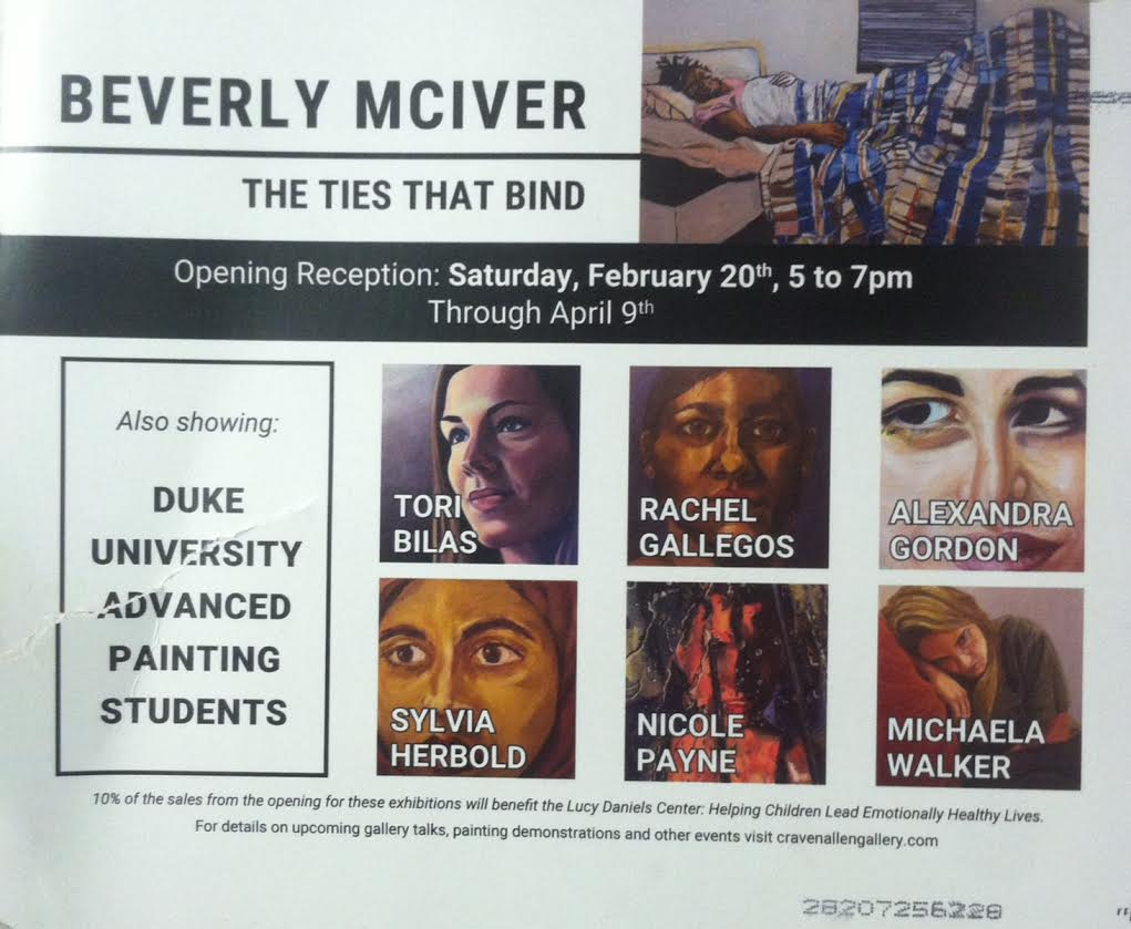 Showing at Craven Allen Gallery. Opening Reception is on Saturday, February 20th at 5-7pm. Showing ends April 9th.