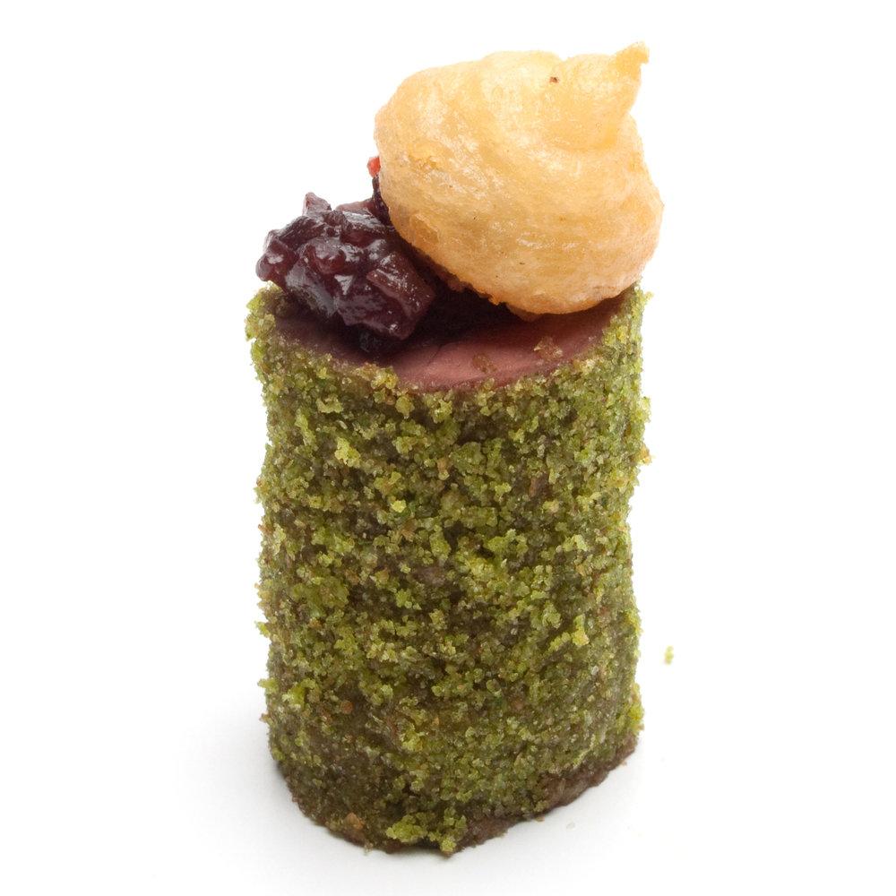 Basil Crusted Filet Mignon
