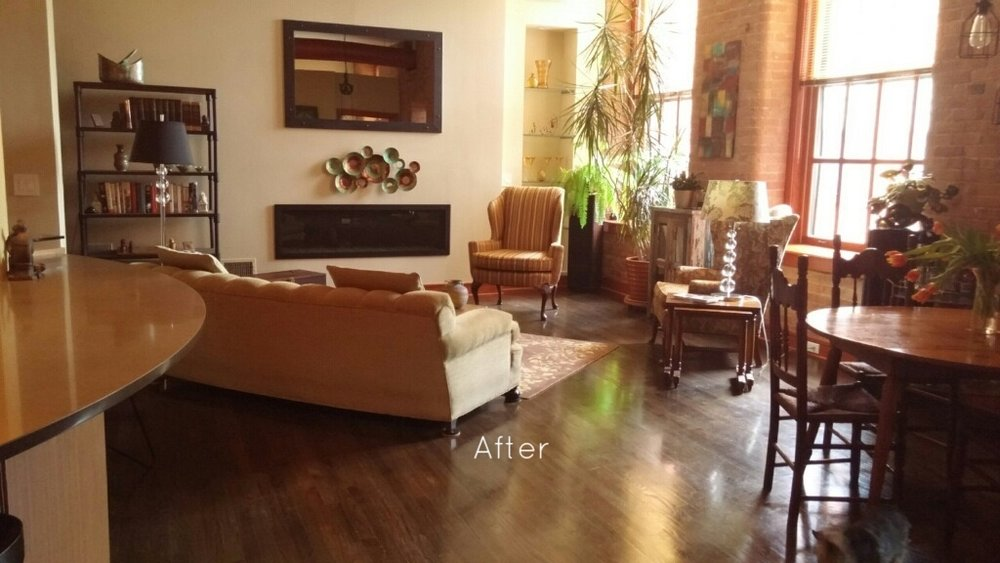 AFTER: Luxurious, open space.
