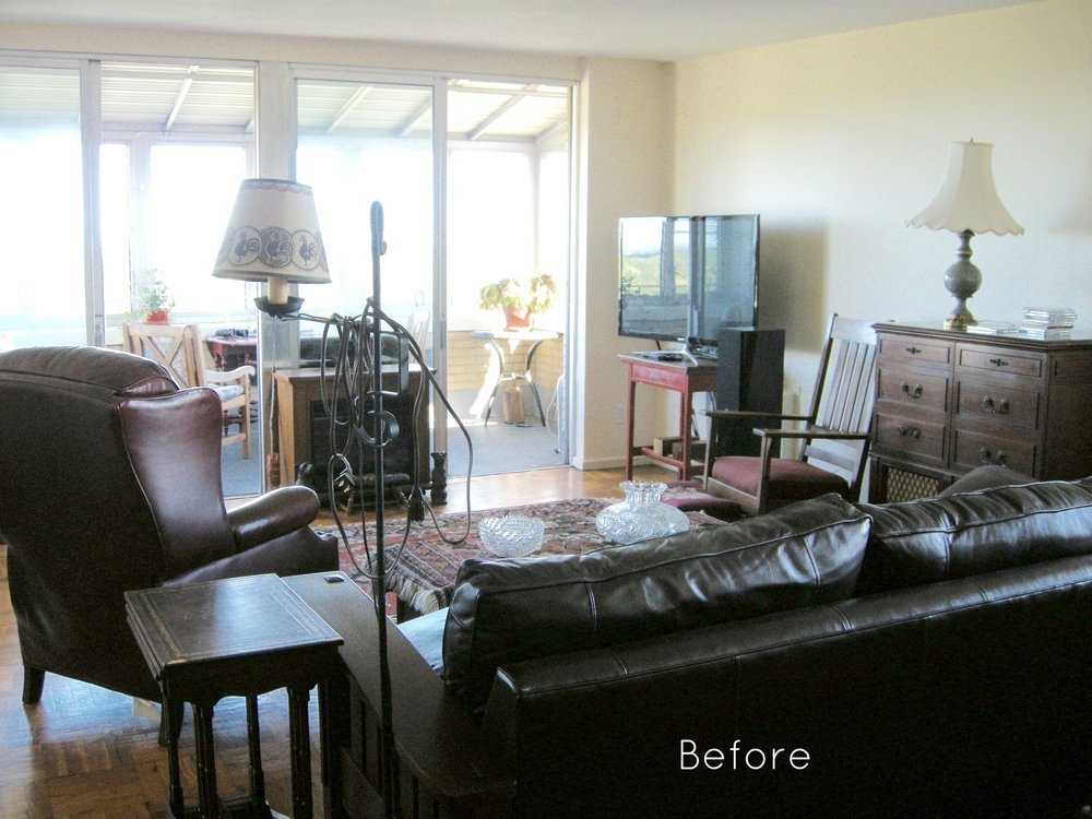 BEFORE: Living Room.