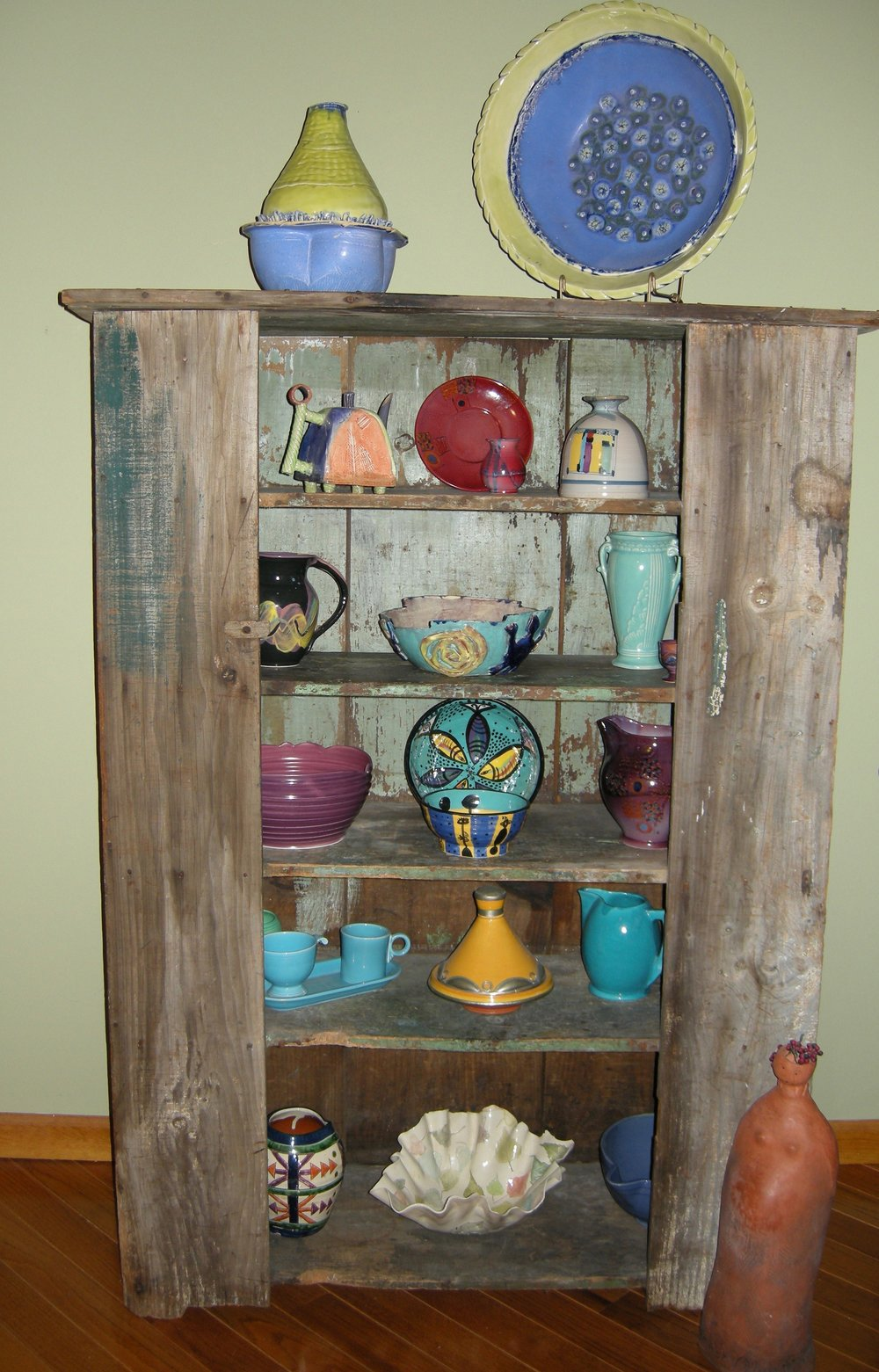 Antique cupboard in my previous living room