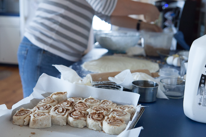 Unbaked rolls