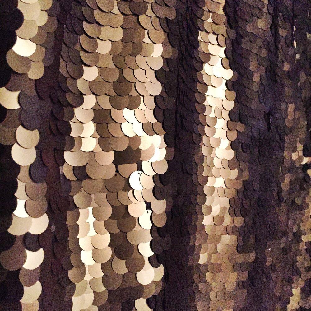 Large Copper Sequins
