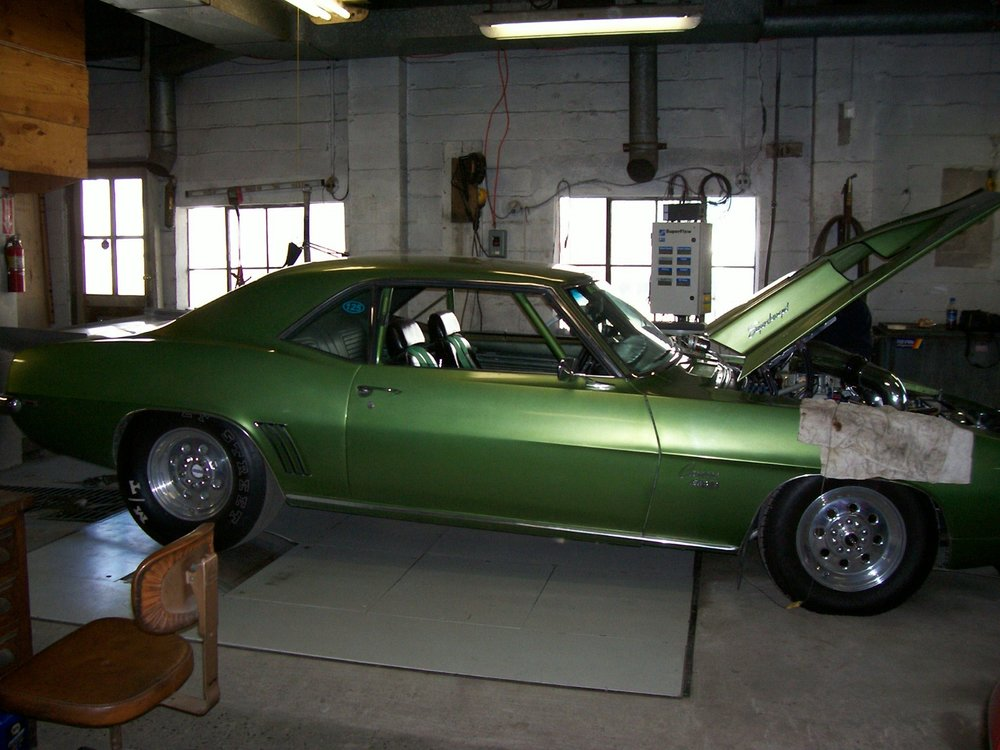 69-chevy-camaro supercharged dyno green salvo brothers.JPG