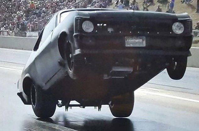 drag racing nova wheelie