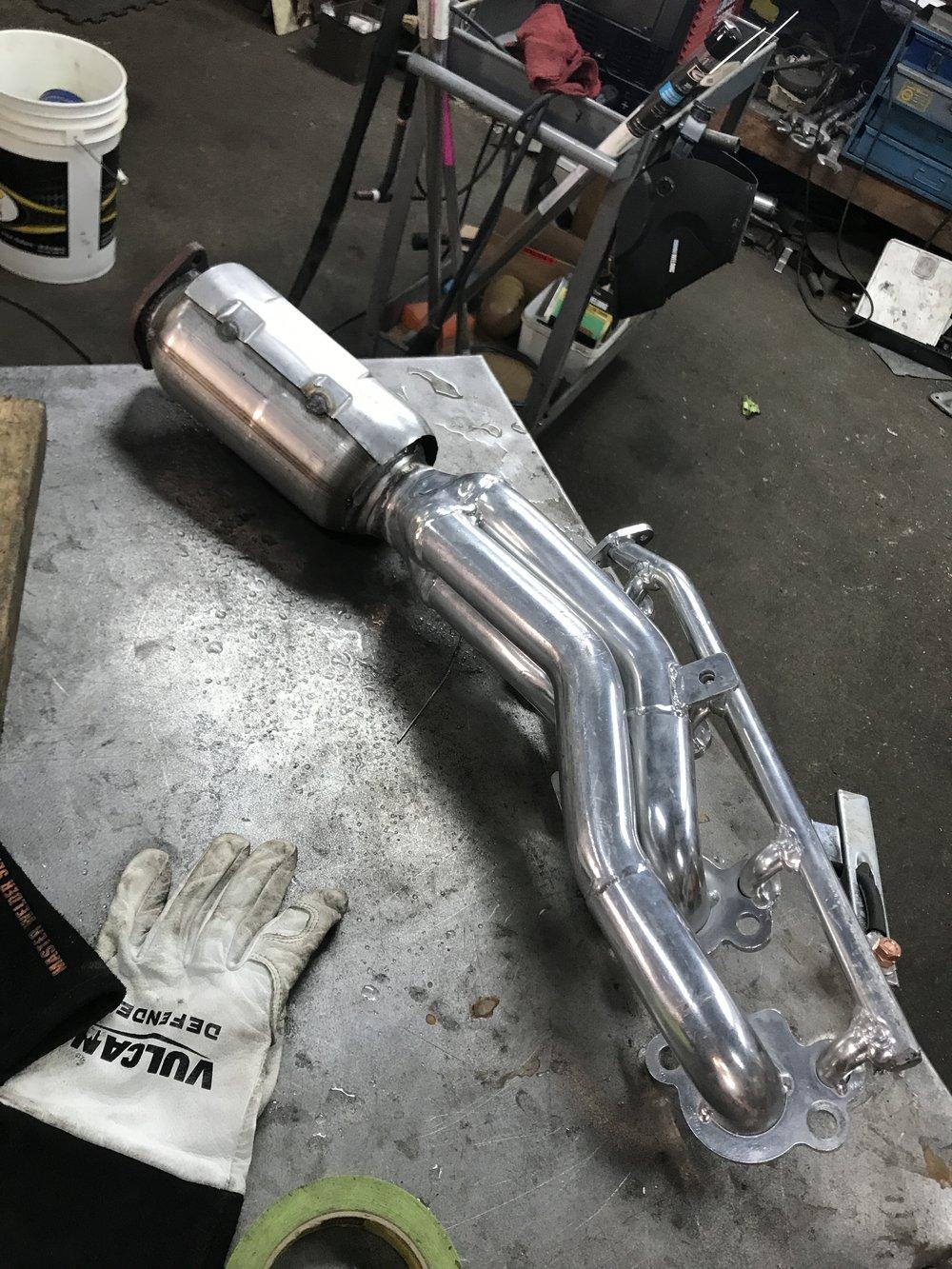 custom exhaust welding