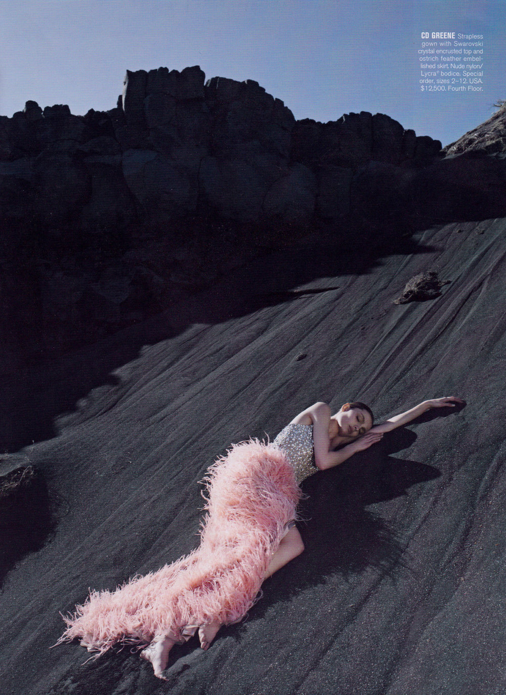Bergdorf Goodman Magazine- The Girl who Fell to Earth Fall 2011