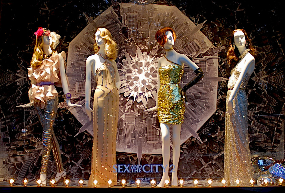 Bergdorf Goodman's 2010 Sex and the City 2 windows