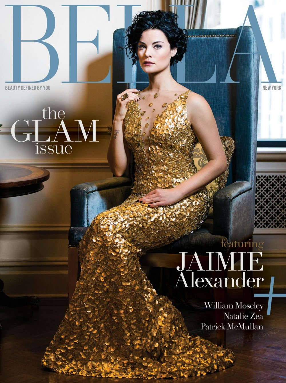 Jaimie Alexander for Bella New York Magazine January/February 2017.