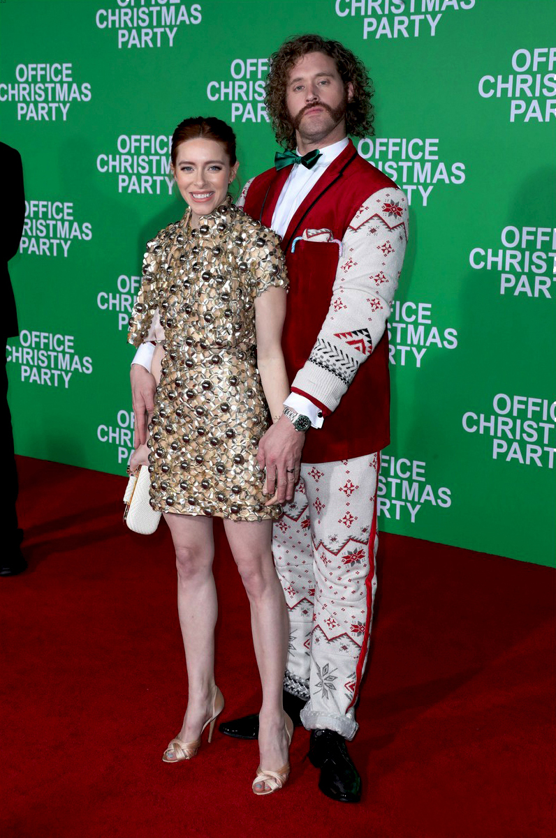 Kate Miller at Office Christmas Party Movie Premiere in LA, December 2016.