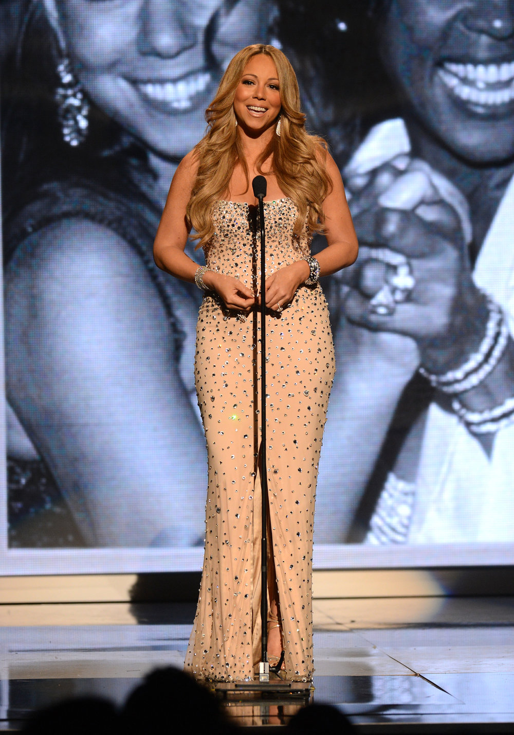 Mariah Carey at the 2012 BET Awards