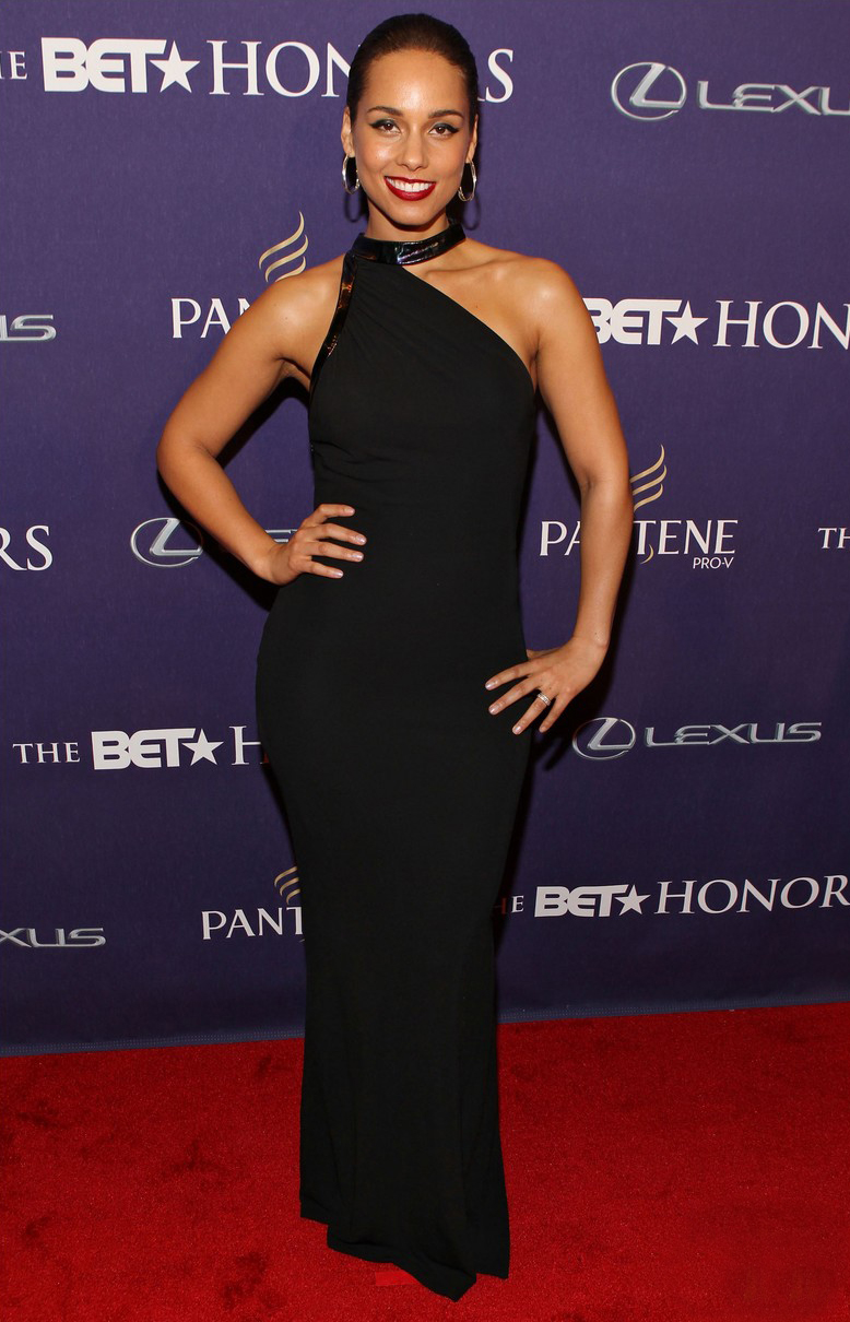 Alicia Keys at BET Honors 2013