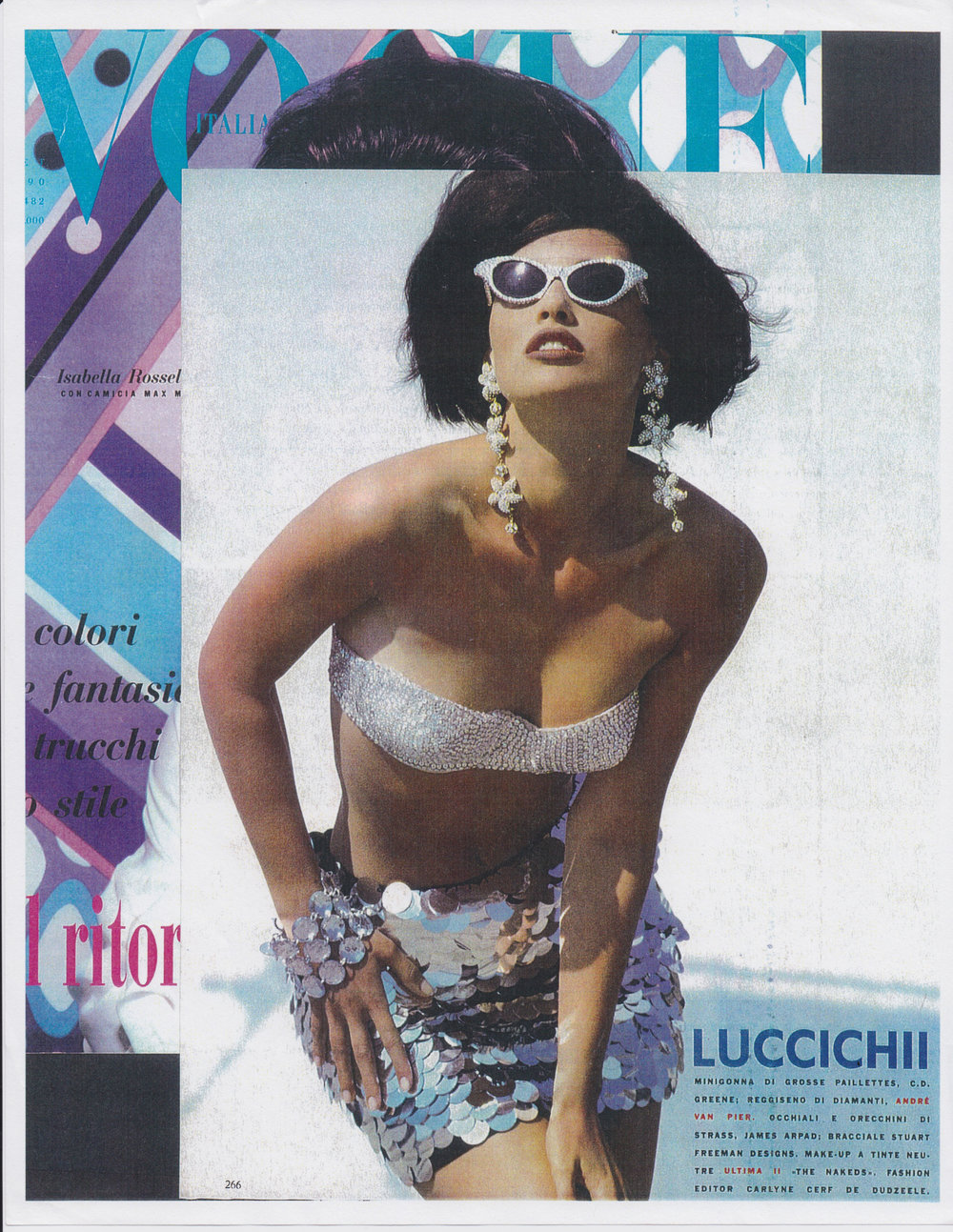 Vogue Italia September 1990