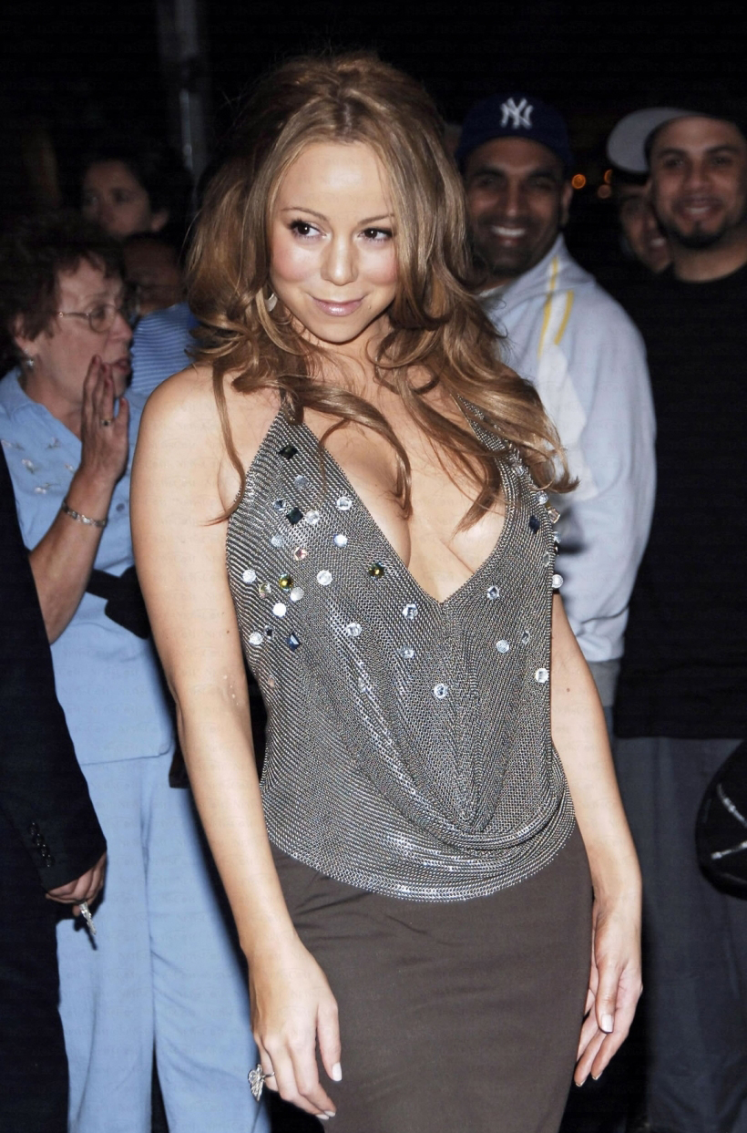 Mariah Carey attends L.A. Reid's 50th birthday party in  NYC June 11, 2006