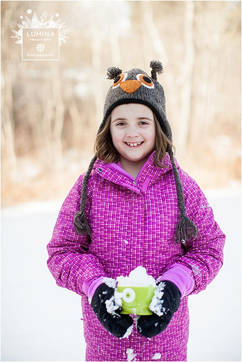 Maple Snow in Maine