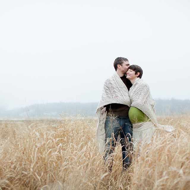 Love this sweet maternity session. It was in Feb and freezing! But we made a little nest with blankets and this image (and little family!) warms me still.