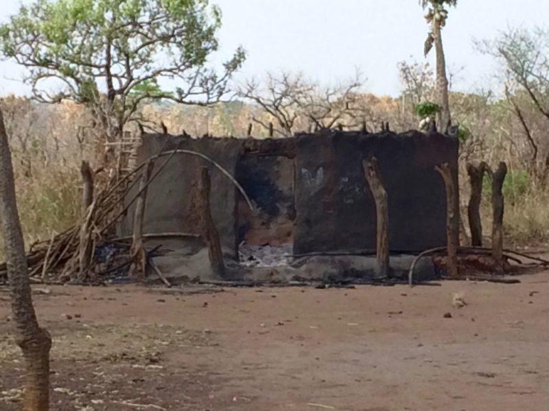 Kenneth's burnt house