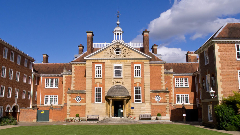 Accommodation is within Lady Margaret Hall, University of Oxford, above