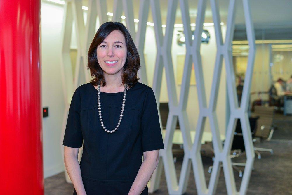 Nicole Hazard, AXA's Head of Strategy, Analytics & Innovation