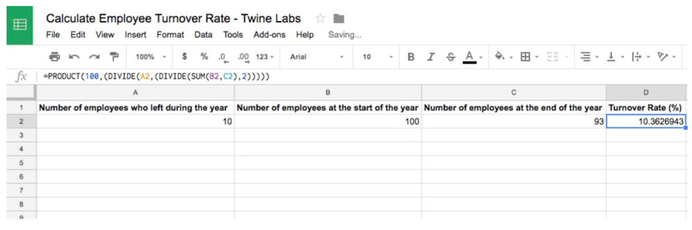 How To Calculate Turnover Rate Spreadsheet preview.png