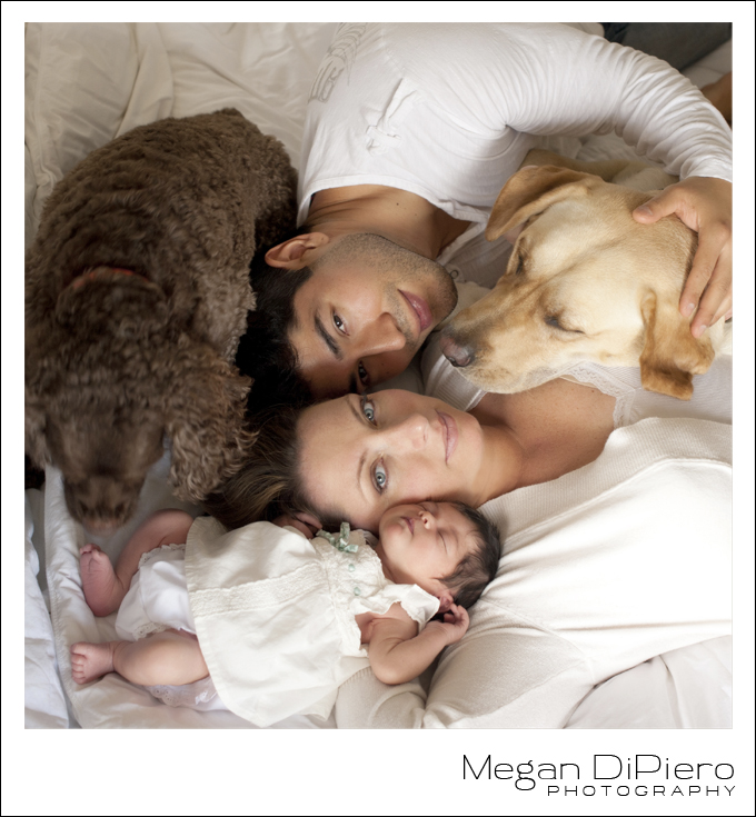 Megan DiPiero Photography {Keeping It Real: Natural Newborn Portraits}
