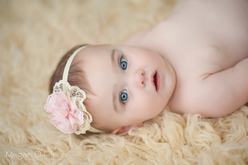 Megan DiPiero Photography {What is the Best Age to Photograph a Baby?}