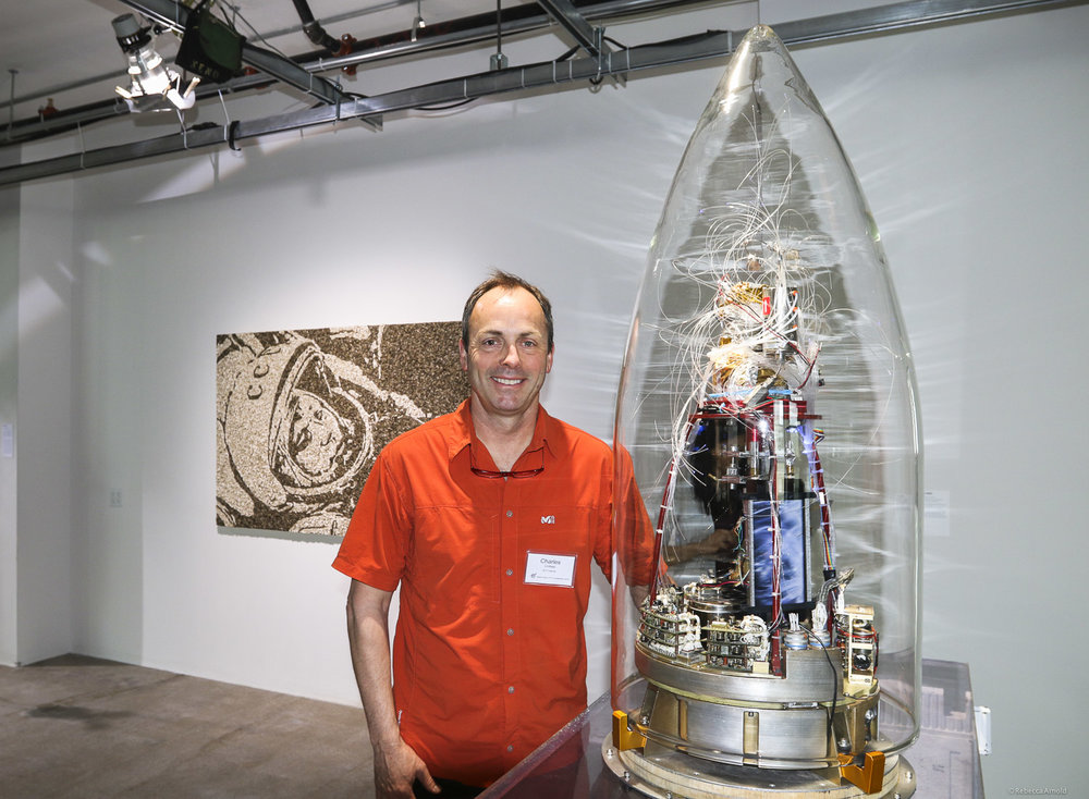 Artist Charles Lindsay and Rocket Brain
