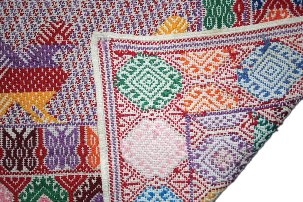 Detalle de Su't, Palín, Escuintla. Colección Privada ©Archivo Fotográfico Museo Ixchel del Traje Indígena Fotógrafo. Anne Girard