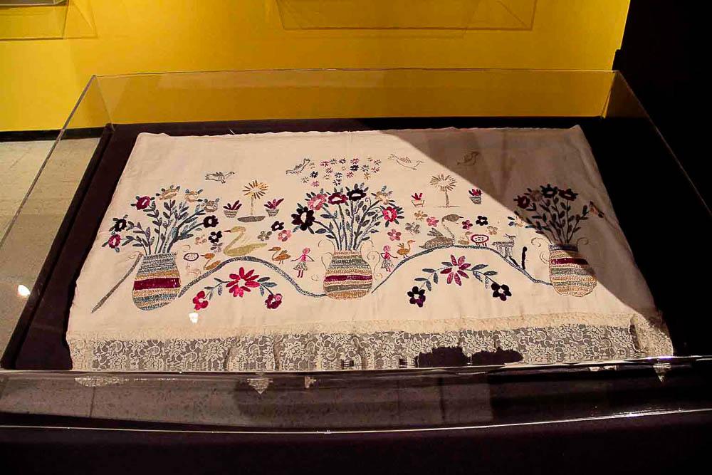 Mantel ceremonial San Pedro Sacatepéquez San Marcos MI-03737©Archivo Fotográfico Museo Ixchel Indígena Fotógrafo. Armando Mazariegos