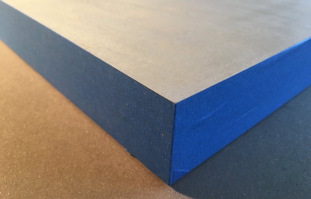 I personally like to tape my edges as I prefer the clean wood edge look.