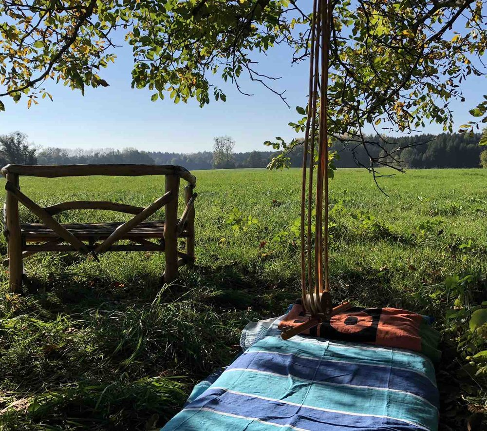 Tree-Time - Experience a Hang-Free Session under a tree!