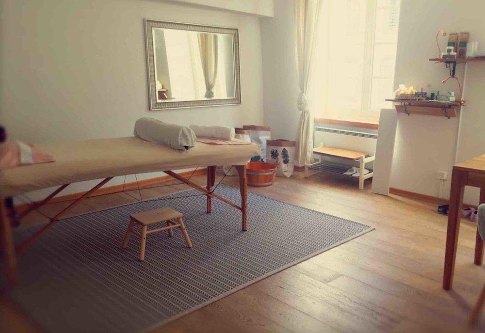 Behandlungsraum in 5000 Aarau | Balance-Finder