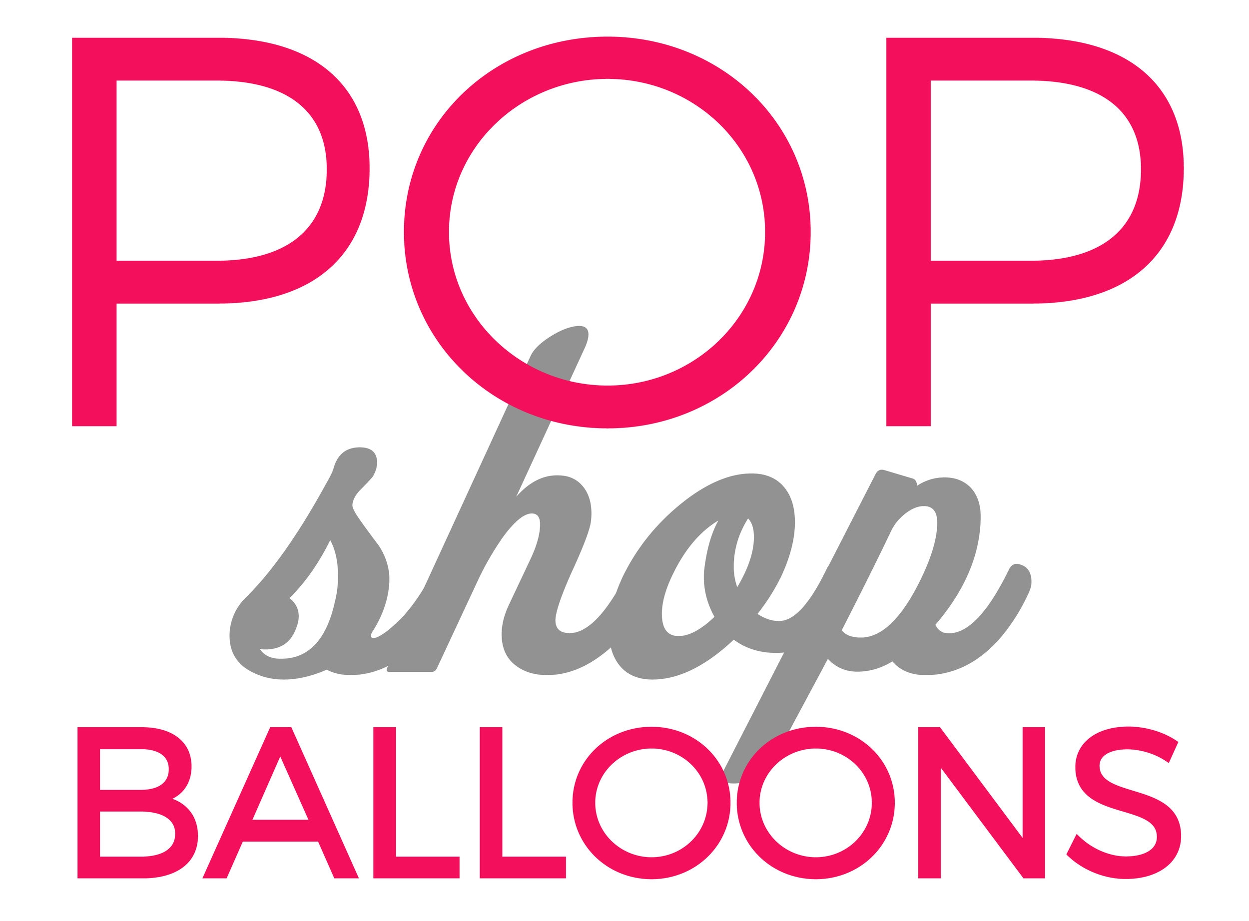 POP SHOP BALLOONS