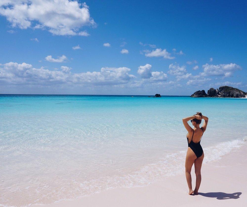 Horseshoe Bay - Bermuda  Swim suit from  NastyGal